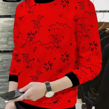 Printed t-SHIRT 1 RED